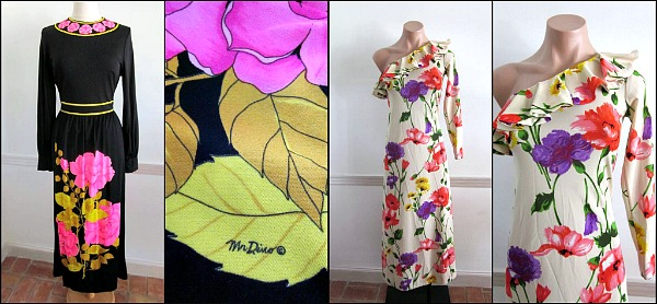 1970s maxi dresses  L: Mr. Dino  R: Lord & Taylor