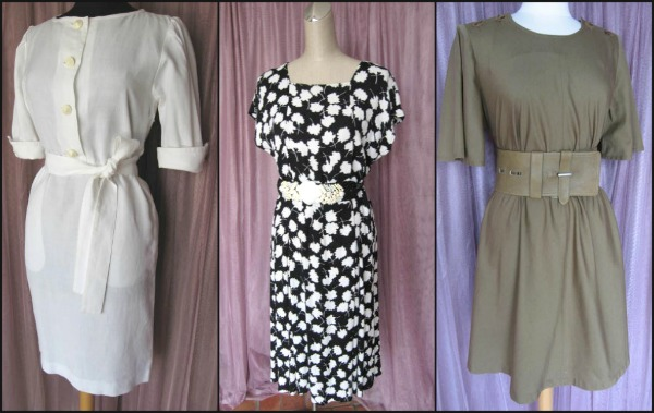 Vintage YSL Saint Laurent dresses are classics to add to any wardrobe